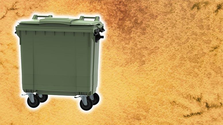 contenedor de basura 800l